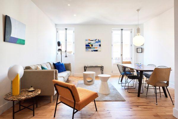 ristrutturazione casa - soggiorno elegante